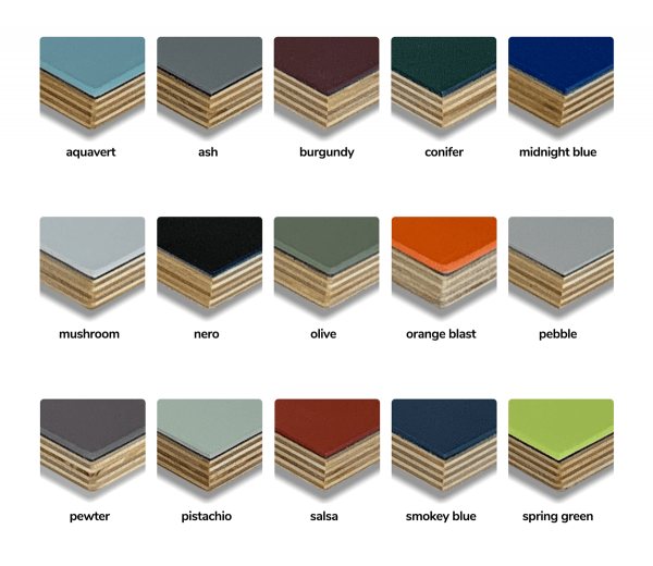 our available colors